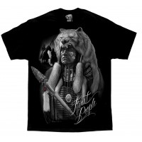 DGA David Gonzales Chicano Art First People Native American Indian T Shirt