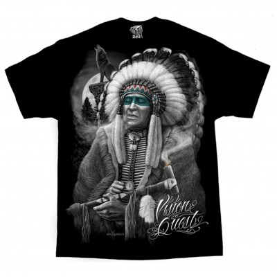 DGA David Gonzales Chicano Art Vision Quest Native American Indian T Shirt