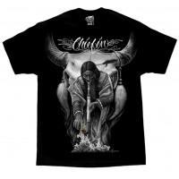 DGA David Gonzales Chicano Art Chiefin Native American Indian T Shirt
