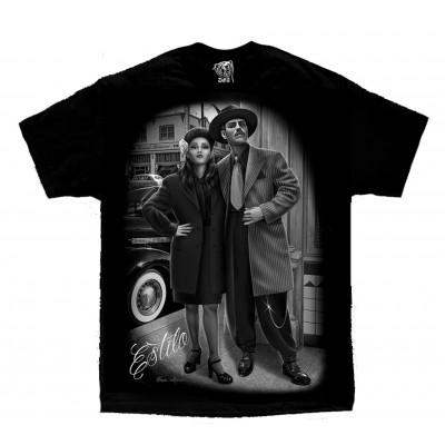 DGA David Gonzales Lowrider Chicano Art Estio T Shirt
