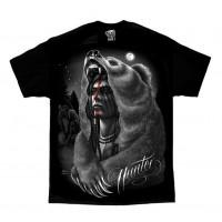 DGA David Gonzales Chicano Art Hunter Native American Indian T Shirt