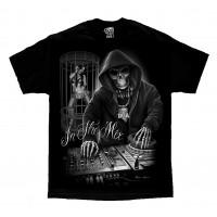 DGA David Gonzales Lowrider Chicano Art In The Mix DJ T Shirt