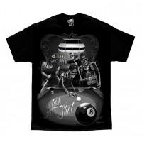 DGA David Gonzales Lowrider Chicano Art Last Shot T Shirt