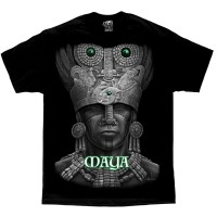 DGA David Gonzales Lowrider Chicano Art Aztec Maya T Shirt