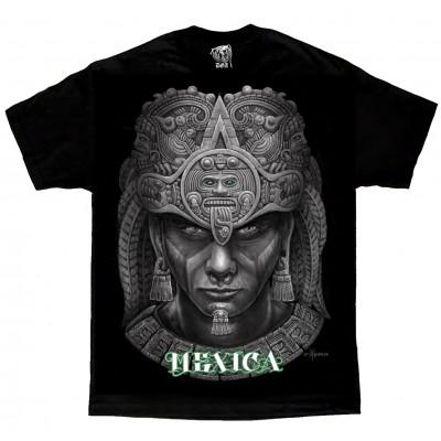 DGA David Gonzales Lowrider Chicano Art Aztec Mexica T Shirt