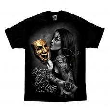 DGA David Gonzales Lowrider Chicano Art Tears Of A Clown T Shirt