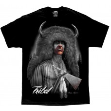 DGA David Gonzales Chicano Art Tribal Native American Indian T Shirt